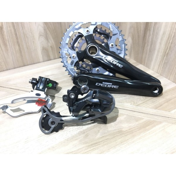 Grupo Shimano Deore M590 27v Freio Hidraúlico Filé Bike